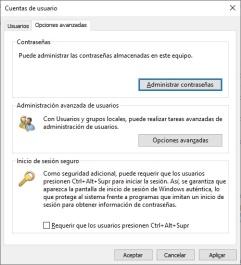 activar cuenta admin 8